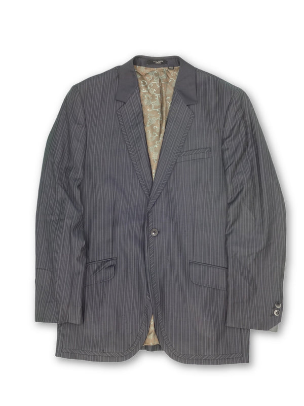 Ted Baker Striped Suit Jacket - 40 R