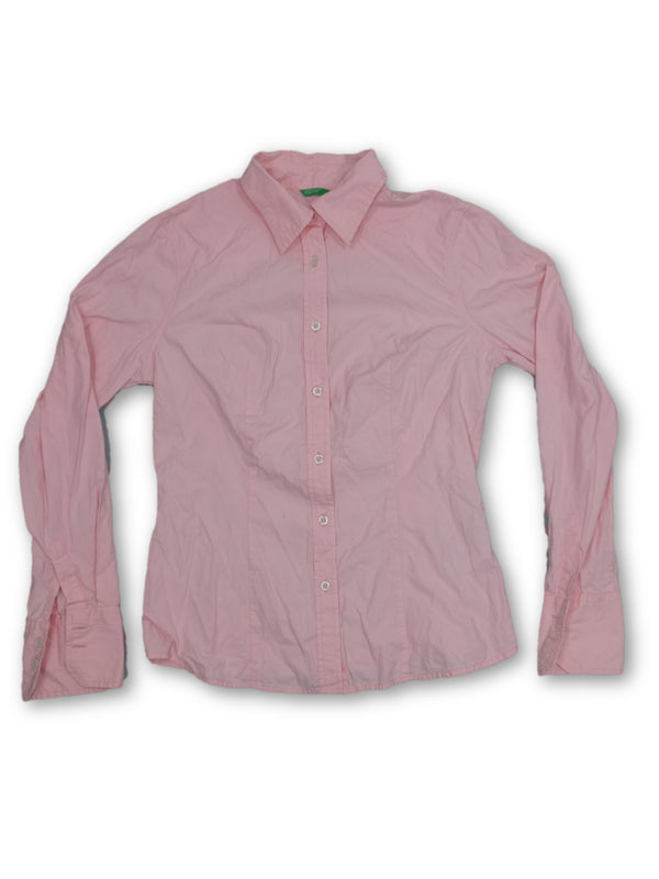 United Colors of Benetton Womens Longsleeve Shirt Size M