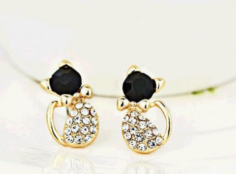 Elegant Crystal Rhinestone Ear Stud Earrings     FREE SHIPPING...