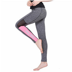 Lady Movement Pant Fitness Legging Light Dark Gray Pink Spring A Fitness Activewear Legging American Original Order