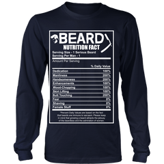 Beard Nutrition Guide Limited Edition Not sold In Stores...