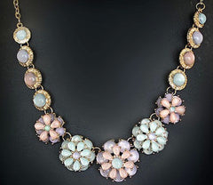 Charm Necklace Chunky Crystal     FREE SHIPPING.    Limited   on Sale  $ 12.99