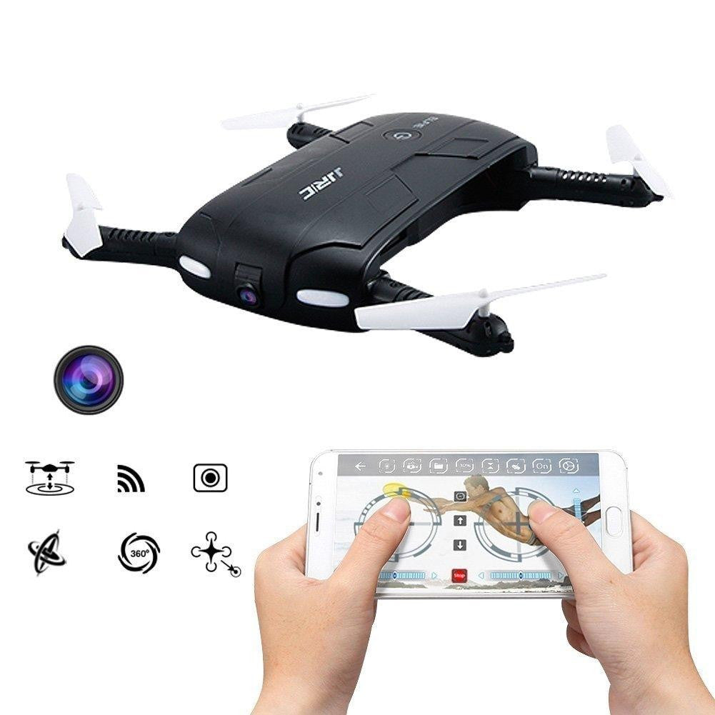 Mini Foldable Pocket Selfie Drone With FPV Wifi Camera Quadcopter Phone Control Fly Helicopter Rc Drone H37