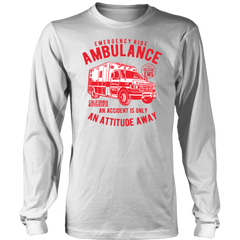 Emergency Ride Ambulance an Accident is an Attitude Away On SALE Now