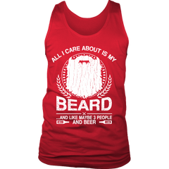 All I Care About is my Beard and like 3 People and Beer On SALE Now