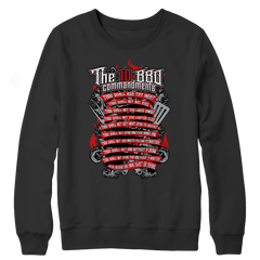 The 10 bbq commandments Limited Edition - BBQ Long Sleeve