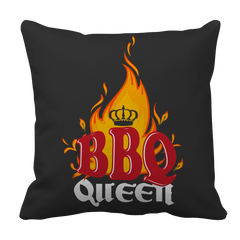 BBQ Queen BBQ Decorative Pillow