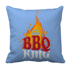 BBQ King Decorative Pillow