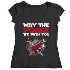 May the Forks Be with You Unisex T shirt