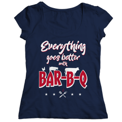 Everything Goes Better With Bbq T Shirt
