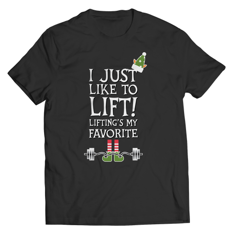 Lifting's My Favorite Christmas  Unisex Tshirt Not Sold In Stores