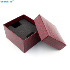 Crocodile Durable Present Gift Box Case For Bracelet Bangle Jewelry Watch Box