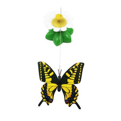 🐱  Cat Toy Electric Rotating Cat Toys Flower Butterfly Birds Teaser FREE Shipping  🚚