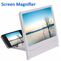 NEW Mobile Phone Screen Magnifier Eyes Protection Display 3D Video Screen Amplifier Folding Enlarged Expander Stand Holder