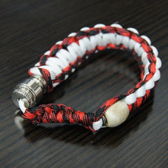Metal Smoking Pipe Herbs Bracelet