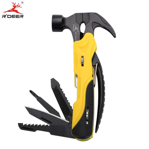 Multi Tool Outdoor Survival Knife 7 in 1 Pocket Multi Function Tools Set Mini Foldaway Pliers Knife Screwdriver