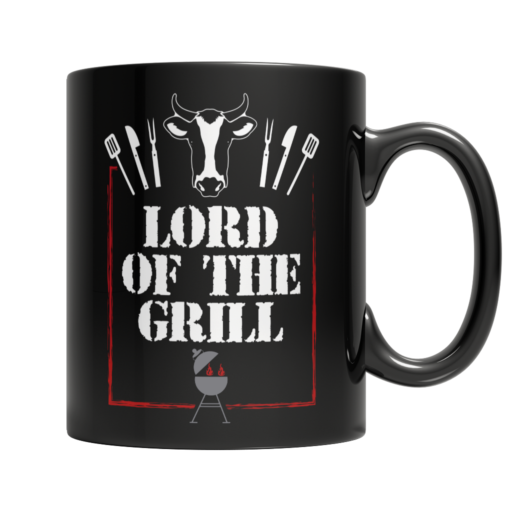 Lord Of The Grill BBQ Mug