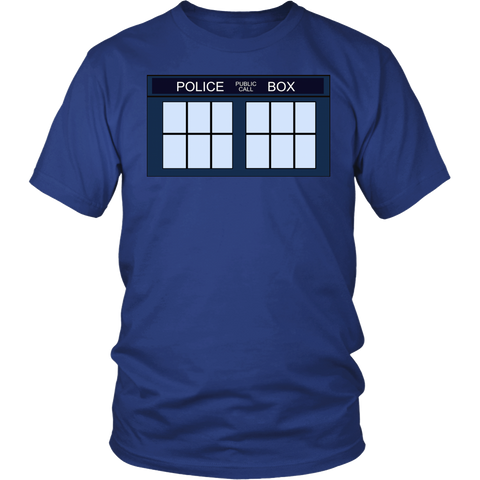 "Police Call Box  ""Tardis"" T-shirt"