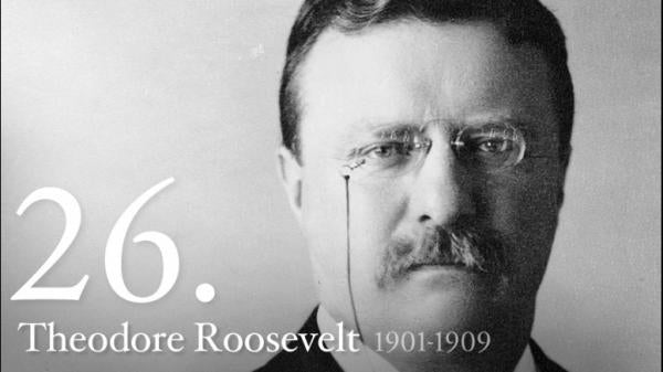 Theodore Roosevelt: Law & Order in New York, Taking on Monopolies, promoting Blacks, defending Jews, freeing Cuba, U.S. a World Power, WWI & calling for end of Massacre of Syrians & Armenians - American Minute with Bill Federer