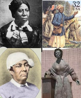 Sojourner Truth, Betsey Stockton, Harriet Tubman, & Anna Murray-Douglass - American Minute with Bill Federer
