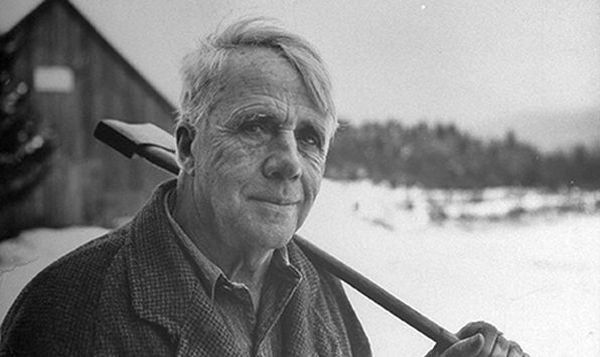 """Two Roads Diverge in the Woods ...""- Robert Frost, Four Time Pulitzer Prize-Winning Poet - American Minute with Bill Federer"