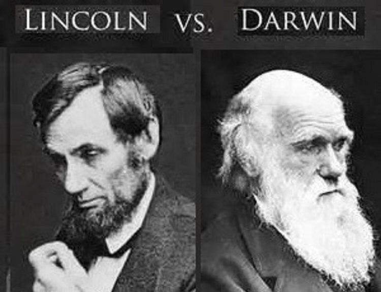 Darwin v. Lincoln: Born Exact Same Day - But Lives Had Opposite Effects - American Minute with Bill Federer