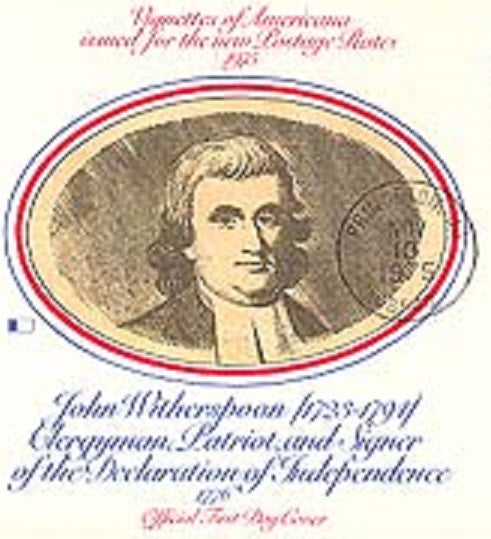 """A Republic must either reserve its Virtue or lose its Liberty"" - Rev. John Witherspoon, Signer of Declaration of Independence - American Minute with Bill Federer"