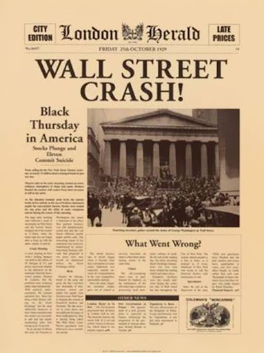 Stock Market Crash 1929 & the dangerous policy of government intervention - American Minute with Bill Federer