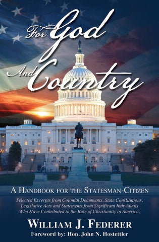 ebook For God and Country-A Handbook for the Statesman-Citizen