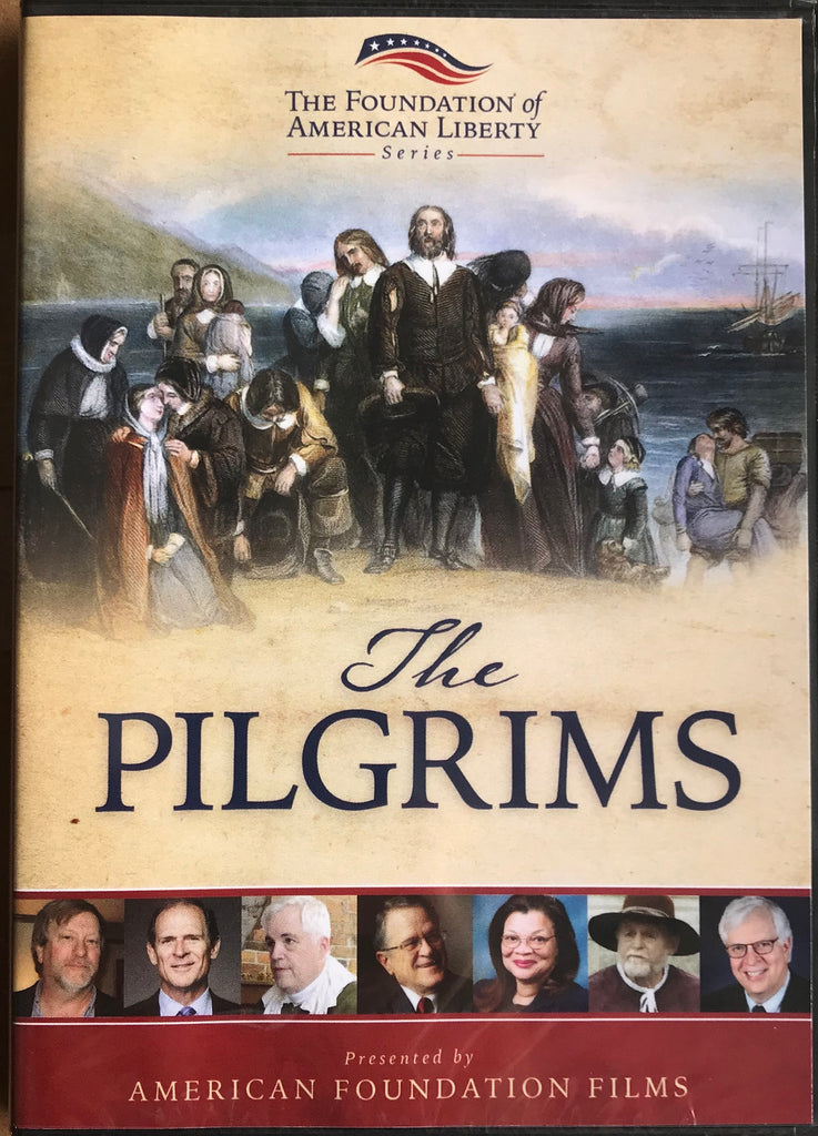 DVD The Pilgrims, The Foundations of American Liberty Series, Presented by American Foundation Films