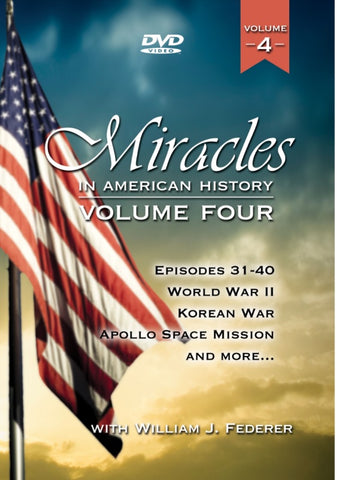 DVD Vol. 4 Miracles in American History (Episodes 31-40)