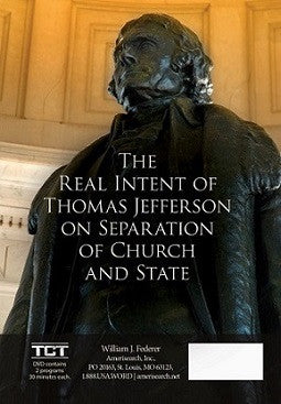 DVD The Real Intent of Jefferson on Separation of Church & State / How the Birth of Jesus affected the Calendar