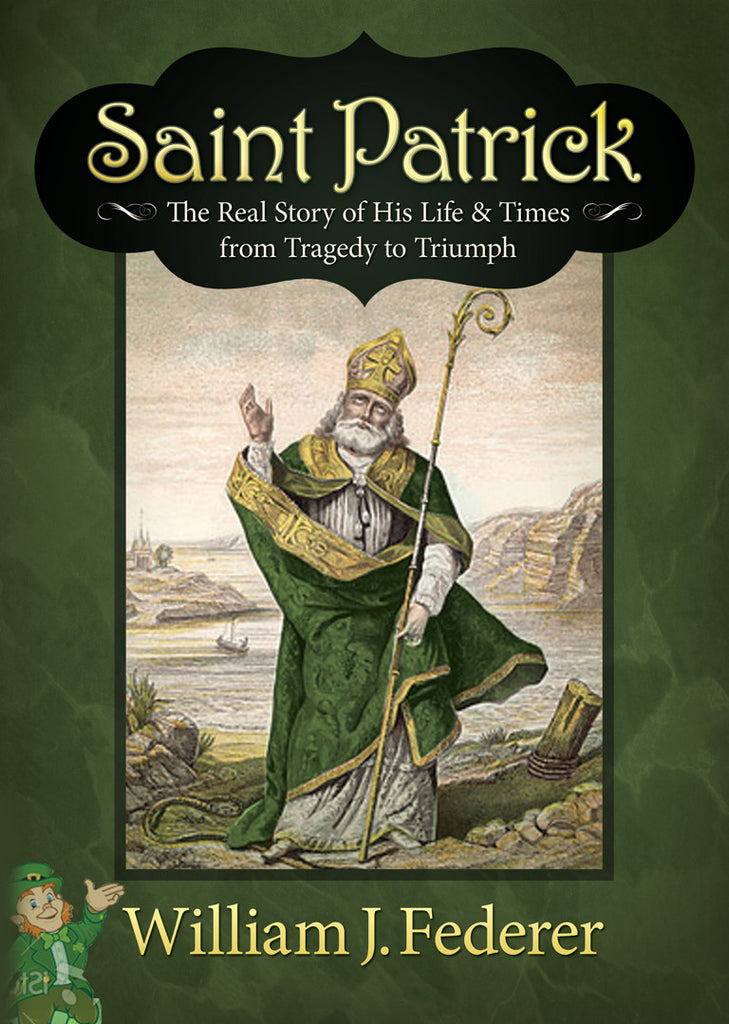 DVD Saint Patrick - The Real Story of His Life & Times from Tragedy to Triumph (3 episodes - 30 minutes each)