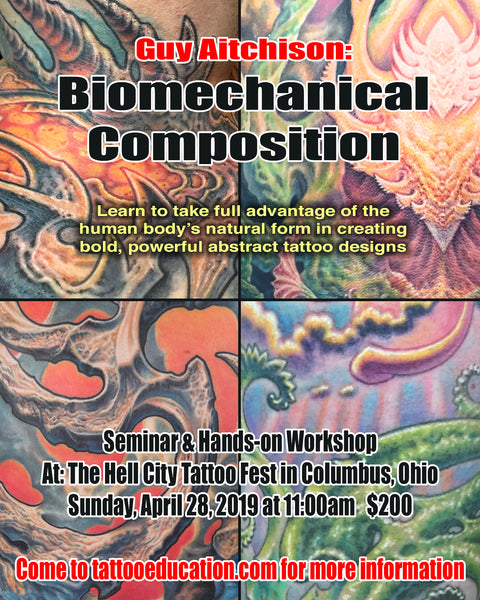 079317417 Biomechanical Composition Hands-on workshop. Approx. 2 hours, $200. Sunday  April 29th 11am-1pm