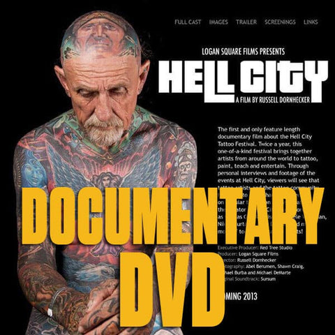 Hell City Documentary DVD