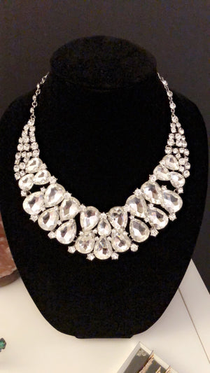 Super woman statement necklace