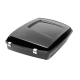 "Chopped 10.7"" Tour Pak Luggage Trunk w/ Latch For Harley Touring Road King Street Glide 14-18"