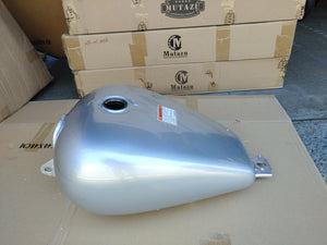 Mutazu Silver Premium Quality Large Vented Gas Tank Petcock & Lock for Honda Rebel 250