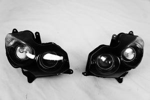 NEW Premium Headlight Head light Assembly Kawasaki ZX14R ZX-14 ZZR1400 2006-2011