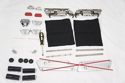 Hard Saddlebags Hardware Kit for 94-13 Touring (no cover plates)