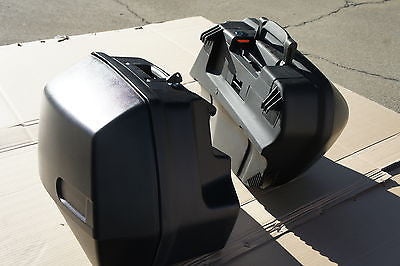Left side Hard Saddlebag bag for BMW Oil head R1100RT, R1150RT