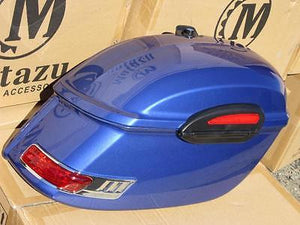 Universal RS Hard Saddlebags - Cobalt Blue