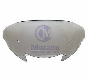 "Mutazu Aero Flip Spoiler Tinted Windshield 11"" Tall Fits Victory Cross Country"