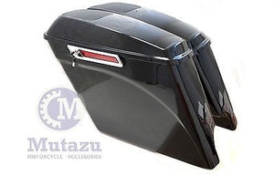 Complete Extended Saddlebags w/ 6x9 Speaker Lids for H-D Touring 2014 & Up