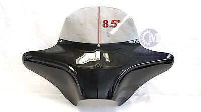 Wide width Aggressive Batwing Fairing w/ Tinted windshield 4 Softail Road King