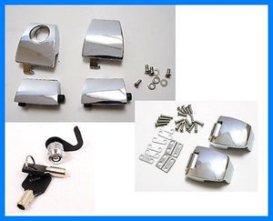 Premium Hardware kit set,Latches, Hinges, lock fit Harley Davidson Tour pak
