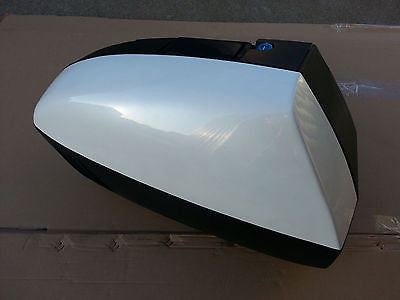 Mutazu Hard Saddlebag for 2003 to 2010 Honda ST1300 Factory White Right