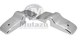 Mutazu Aftermarket Freightliner Truck mirror post Chrome Covers, Sold in pair