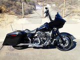 "Complete 4.5"" Extended Saddlebags for 2014 & Up Harley Touring"