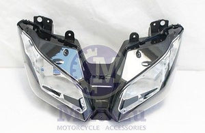 Mutazu Headlight Head light for 2013-2015  Kawasaki Ninja 300 Headlight